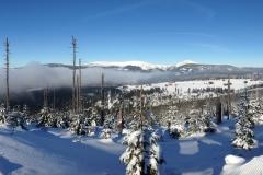 Výhled na Sněžku